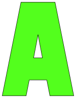 It is a graphic of Exceptional Printable Cutout Letters