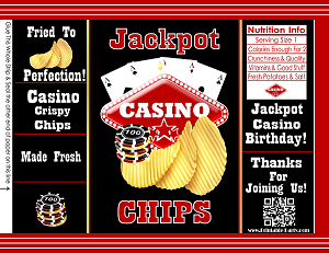 Printable Chip Bags Diy Potato Chip Bags Party Favor
