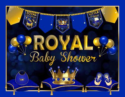 Royal Prince Baby Shower Decorations Printable Boy Baby