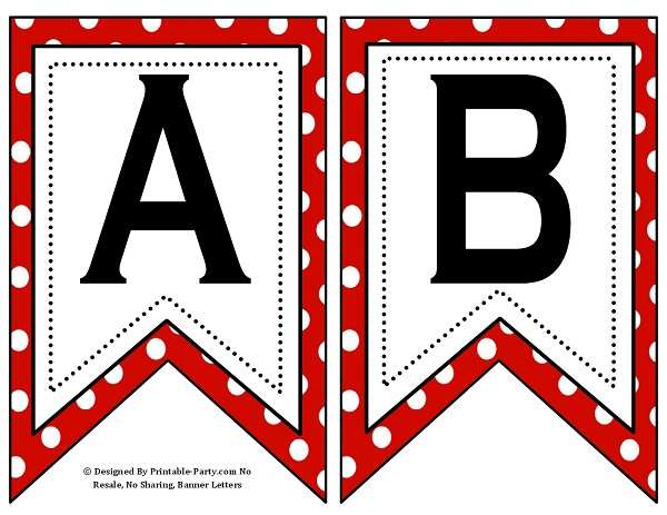 photo about Printable Numbers 0-9 known as Very low Swallowtail Printable Banner Letters A-Z Figures 0-9