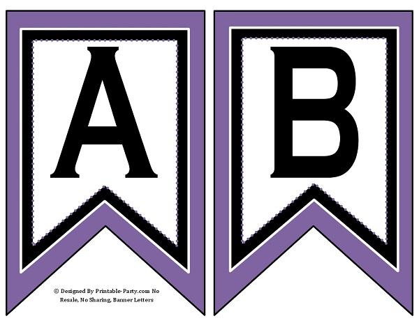 Free Printable Brown Letters