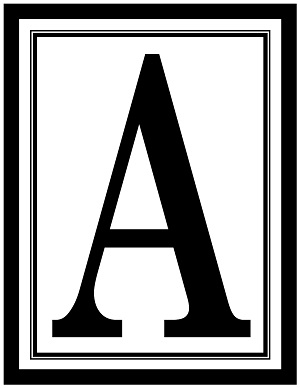 What are some printable alphabet fonts?
