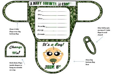 Boy diaper baby shower invitations printable diaper shaped invites filmwisefo