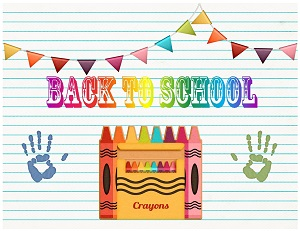 Printable Back To School Party Supplies Back To School
