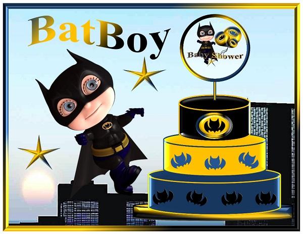 Batman Printable Party Supplies Batboy Birthday Decorations