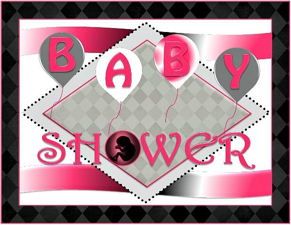 Printable baby girl shower decorations girls baby shower - Baby shower invitations and decorations ...