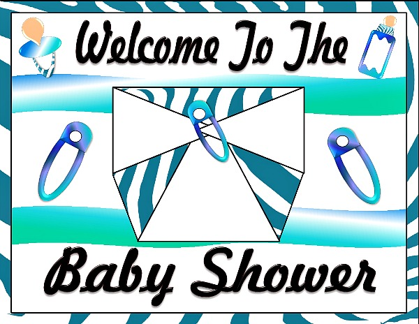 graphic relating to Baby Shower Banner Printable named Printable Youngster Boy Shower Decorations Printable Youngster