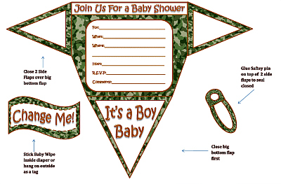 boy diaper baby shower invitations  printable diaper shaped invites, Baby shower invitations