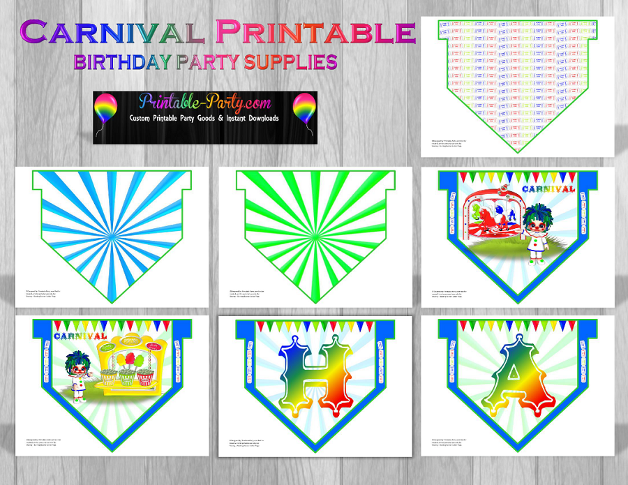 carnival theme party decorations carnival party supplies