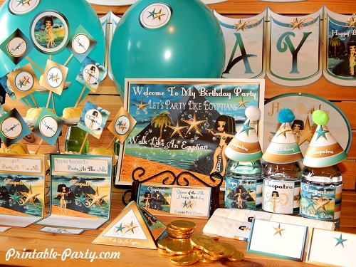 ... Decorations And 600x849 · Egyptian Baby Shower Party Ideas · Cleopatra  Egyptian ...