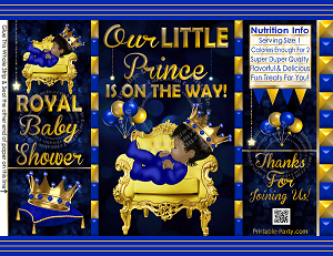 Royal Prince Blue Gold