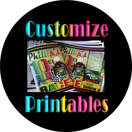 We Add New Printable Party Supplies Every Month