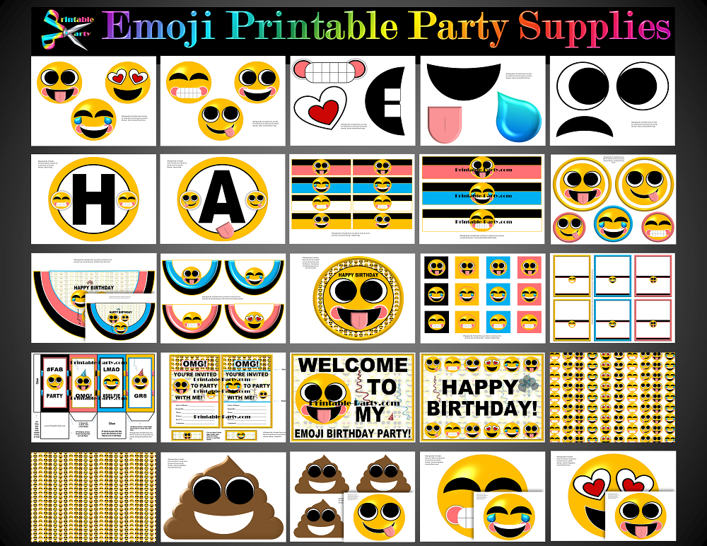 Hollywood Party Supplies Theme