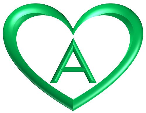 heart printable alphabet letters