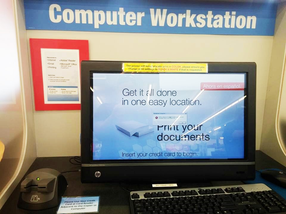 how to print at staples use staples computer workstation to print