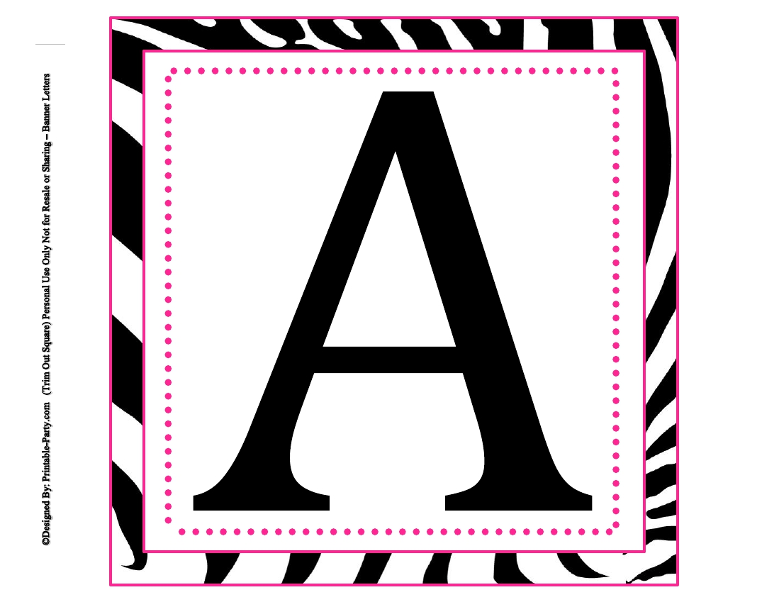 Accomplished image inside free large printable letters