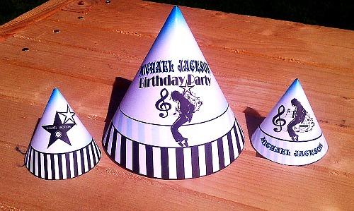 Printable Michael Jackson Party Supplies M J Birthday