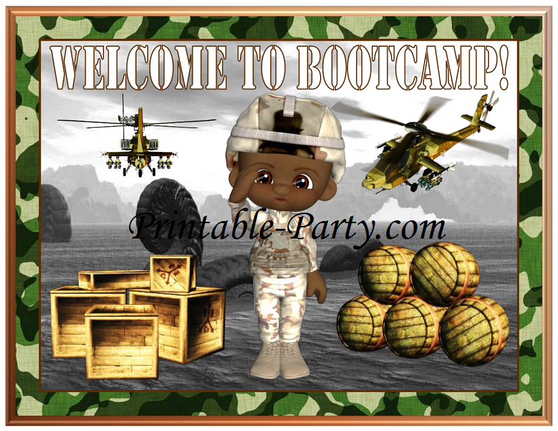 Camouflage Party Supplies - Birthday Party Ideas