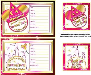 Magic Kingdom Party Supplies Printables