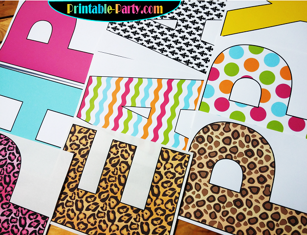 printable cut out letters a z 8x10 inch alphabets a z 0 9 th st rd nd