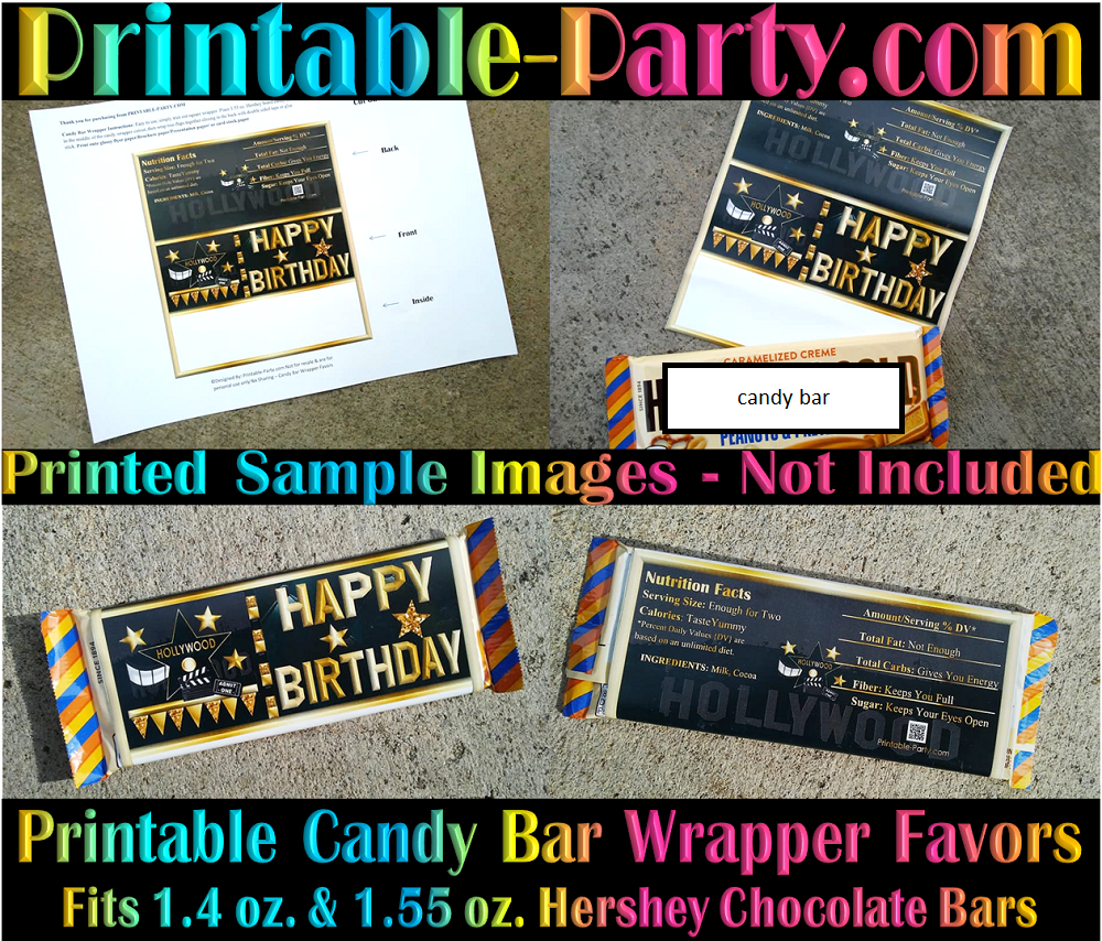 photograph regarding Printable Hershey Bar Wrappers identified as Printable Do-it-yourself Boy or girl Shower Chocolate Sweet Bar Labels Like