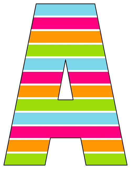Printable Cut Out Letters A Z