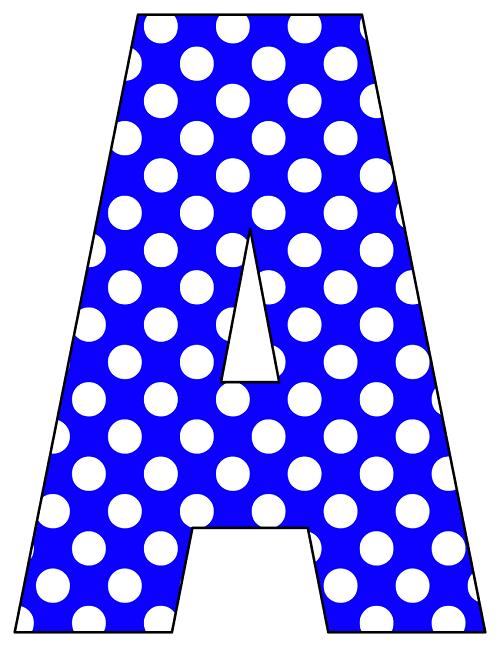 A Alphabet Letter Printable Cut Out Lett...