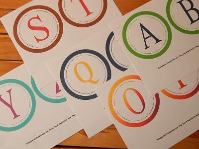 Z letters a printable alphabet Alphabet Worksheets
