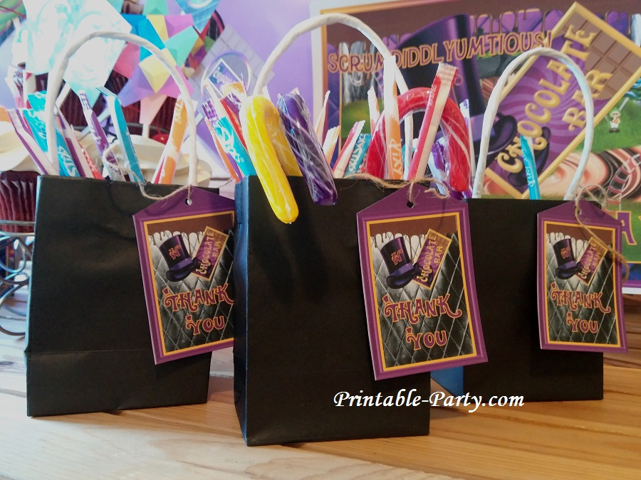 Charlie And The Chocolate Factory Birthday Party Ideas